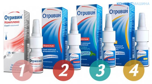 Лучший спрей в нос при лечении гайморита для выздоровления