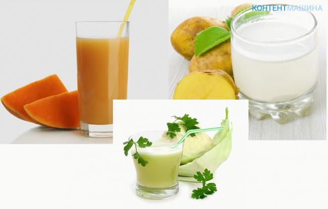 Картофельный сок при эрозивном гастрите